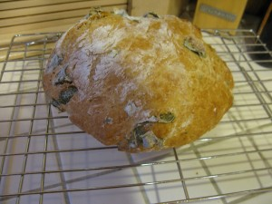 Basil Beer Bread