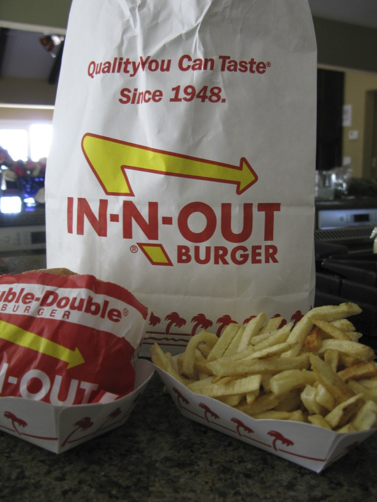 double double with fries