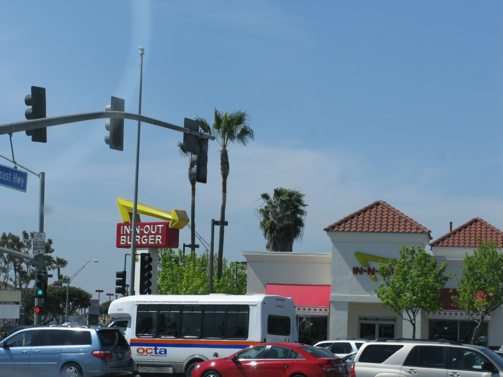 In N Out on PCH/2nd in the LBC
